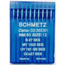 Игла Schmetz для промышленной машины(SERV7)№80